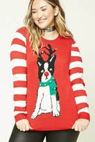 Forever 21 FOREVER 21+ Plus Size Jingle-Bell Sweater