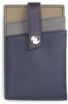 WANT Les Essentiels Men's 'Kennedy' Leather Money Clip Card Case - Blue