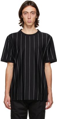 HUGO BOSS Black Striped Driez T-Shirt