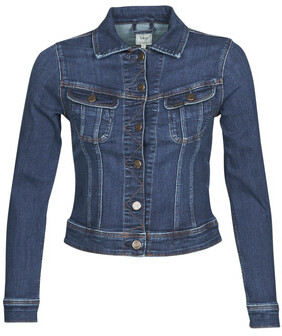 Lee SLIM RIDER JACKET women's Denim jacket in Blue