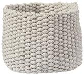 Baby Essentials Small Kneatly Knit Rope Bin (Khaki)