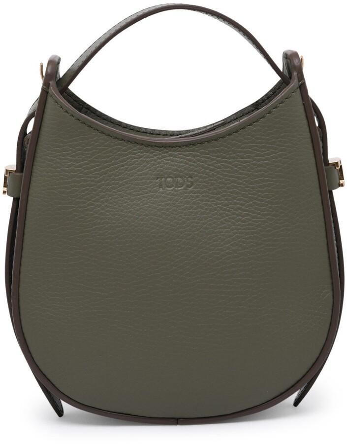 Thumbnail for your product : Tod's Logo Debossed Shoulder Bag