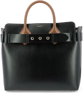 Burberry Triple Stud Belt Top Handle Tote Bag