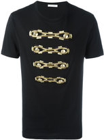 Pierre Balmain button appliqué T-shirt - men - Cotton - 46