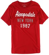 Aeropostale Mens Script New York Graphic T-Shirt S