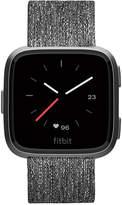 Fitbit VersaTM Charcoal Woven Band Touchscreen Smart Watch 39mm