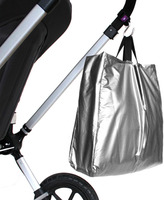 Bed Bath & Beyond Think King Reusable Buggy Tote - Silver