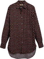 Burberry spot print shirt