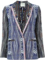 Forte Forte tapestry blazer - women - Cotton/Polyamide/Polyester - I
