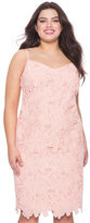 ELOQUII Plus Size Studio Lace Sheath Dress