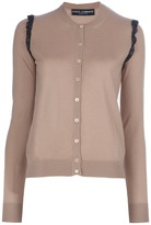 Dolce & Gabbana Lace shoulder cardigan