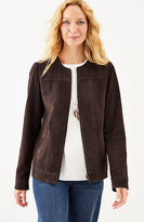 J. Jill Soft Suede Jacket