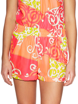 Alice & Trixie Evan Silk Printed Elasticized Short