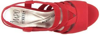 Impo Ezri Stretch Elastic Memory Foam Sandal