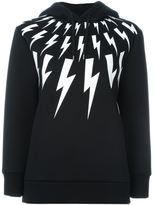 Neil Barrett 'Thunder' sweatshirt - women - Polyurethane/Viscose - XXS