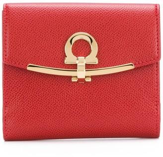Salvatore Ferragamo Gancio clasp wallet