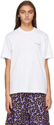 Comme des Garçons Homme Plus White Logo T-Shirt