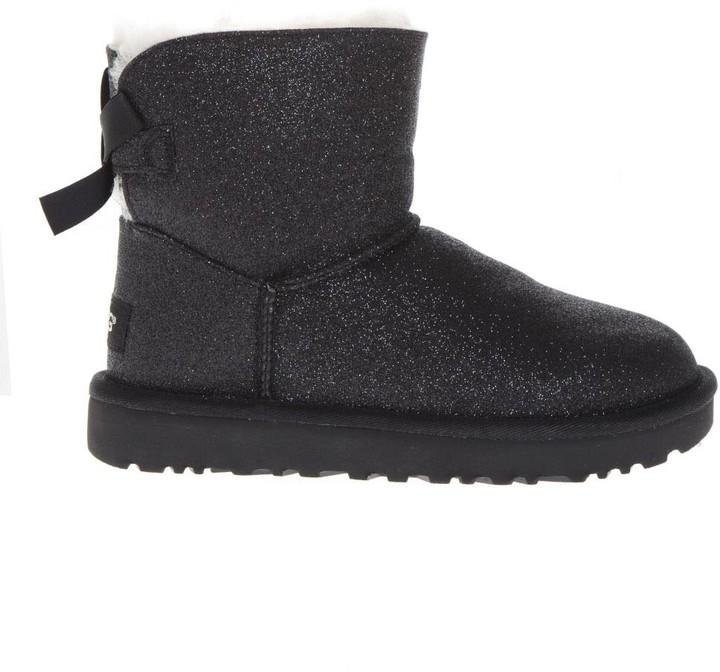 701601fca7e Black Sheep Leather Mini Bailey Sparkle Boots