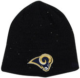 New Era Women's St. Louis Rams Glistener Knit Hat