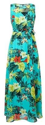 Dorothy Perkins Womens **Billie & Blossom Petite Tropical Print Maxi Dress