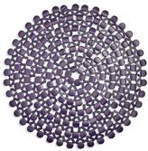 """Sur La Table Bamboo Beaded Placemat, 15"""""""