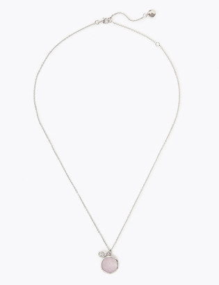 Marks and Spencer Sterling Silver Colour Stone Necklace