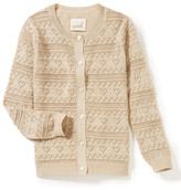 Peek Cecile Pointelle Cardigan (Toddler Girls, Little Girls & Big Girls)