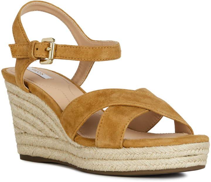 89c7d6315 Geox Wedge Heel Women's Sandals - ShopStyle
