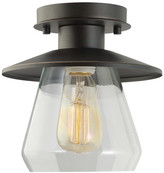 Globe Electric Company Barbara 1-Light Semi Flush Mount