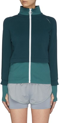 Particle Fever Colour Panelled Track Jacket