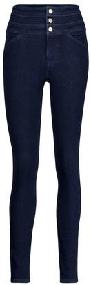 J Brand Annalie high-rise skinny jeans