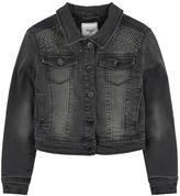 Mayoral Jean jacket with rhinestones