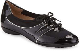 Sesto Meucci Bonnie Stretch Patent Sneakers, Black
