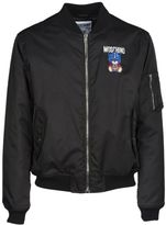 Moschino Embroidered Transformer Bear Bomber Jacket