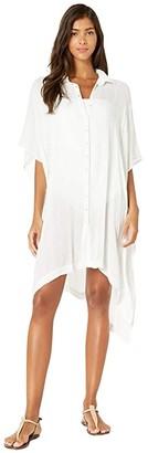 L-Space Anita Cover-Up Dress (Black) Women's Swimwear