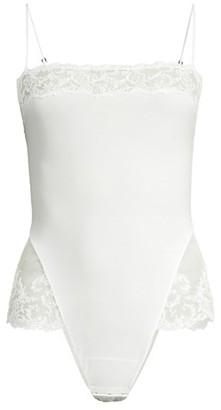 La Perla Rugiada Lace-Trim Bodysuit