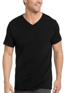 Jockey Men's 3-Pk. V-Neck T-Shirts