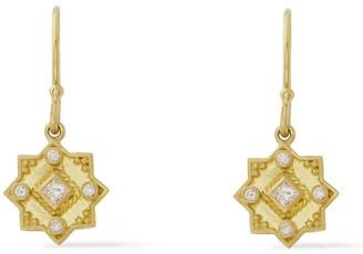 Amrapali 18-karat Gold Diamond Earrings