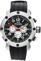 TW Steel Men's TW607 Dario Franchitti edition Rubber Chronograph Dial Watch