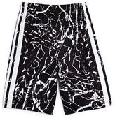 adidas Boys' Crackle Print Climalite Sports Shorts - Big Kid