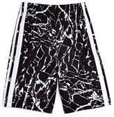 adidas Boys' Crackle Print Climalite Sports Shorts - Sizes S-XL