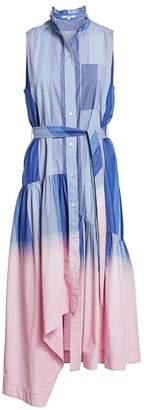 Derek Lam 10 Crosby Neroia Dip-Dye Maxi Dress