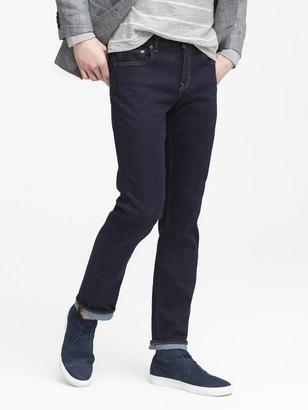 Banana Republic Slim Rapid Movement Denim Stay Blue Jean
