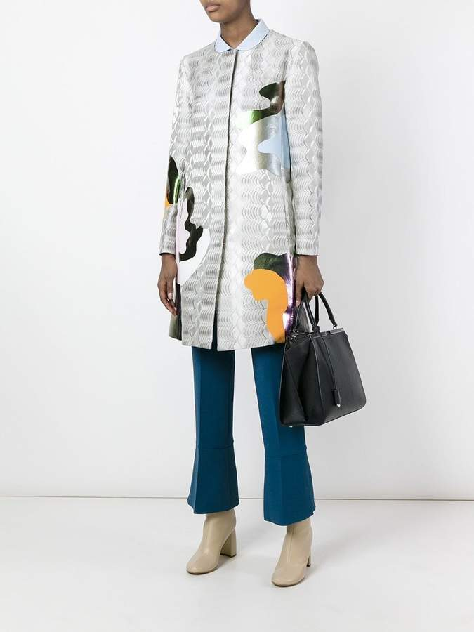 Mary Katrantzou Framis a-line coat