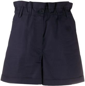 Kenzo Paperbag-Waist Shorts