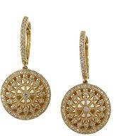 EFFY D'Oro 14Kt. Yellow Gold & Diamond Drop Earrings