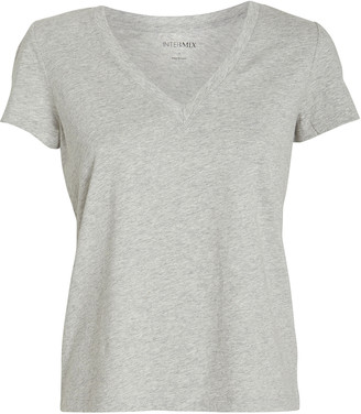 Intermix Classic V-Neck Jersey T-Shirt