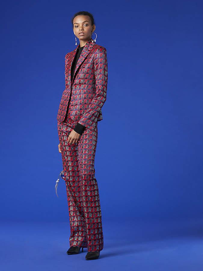 Diane von Furstenberg Pleat Front Pant