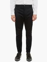 Lanvin Navy Biker-style Trousers