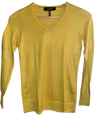 Isabel Marant Yellow Cashmere Knitwear
